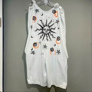 Michael Stars Sleeve less Romper One size Fits all